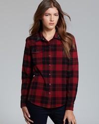 Patterson J. Kincaid Pjk Shirt Flint Embellished Flannel