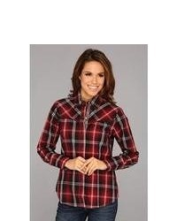 Roper 8787 Fire House Plaid Long Sleeve Button Up