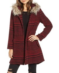 BB Dakota Play It Cool Coat With Faux