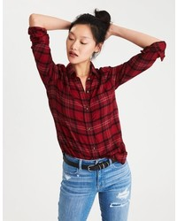 Ahh mazingly soft plaid boyfriend shirt medium 6843971