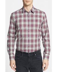 Hugo Boss Boss Ronny Slim Fit Plaid Sport Shirt