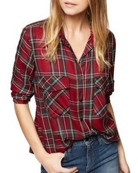 Plaid shirt medium 6843970