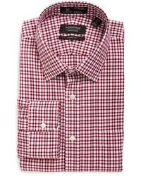 Nordstrom Shop Smartcare Classic Fit Plaid Dress Shirt