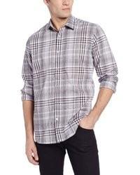 Calvin Klein Sportswear End On End Plaid Shirt