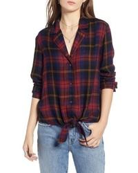 Tie front shirt medium 8851762