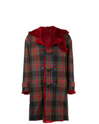 Reversible oversized tartan coat medium 8163759