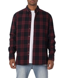 Zanerobe Oversize Plaid Flannel Shirt