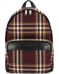 Bally Tartan Backpack