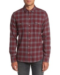 Everett plaid sport shirt medium 5168349