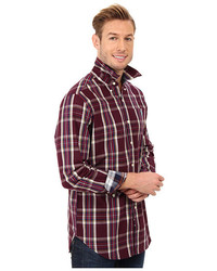 U.S. Polo Assn. Long Sleeve Button Down Plaid Sport Shirt | Where ...