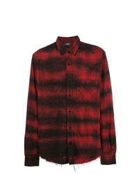 Amiri Loose Fit Plaid Shirt