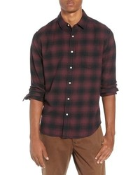 Lumberjack plaid slim fit sport shirt medium 8801449