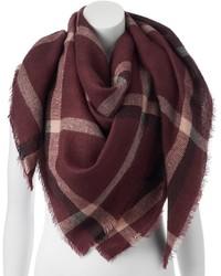Lc plaid blanket square scarf medium 6870241