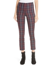 Rag & Bone Simone Plaid Yoke Pants