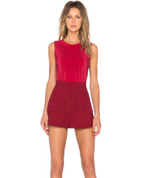 RED Valentino Scallop Playsuit