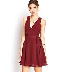 Flirty fever wrap dress medium 53538