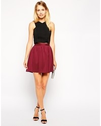 Asos Collection Mini Skater Skirt
