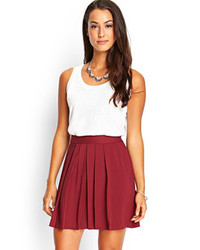 Forever 21 Contemporary Pleated Mini Skirt