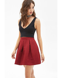 Forever 21 Pleated A Line Skirt