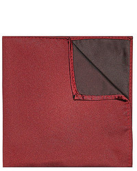 River Island Red Pocket Square