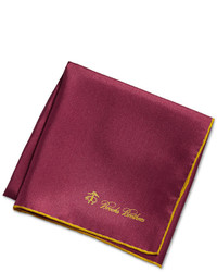 Brooks Brothers Solid Pocket Square