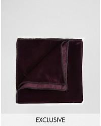 Reclaimed Vintage Velvet Pocket Square