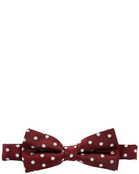 Sovereign Code Burgundy Bow Tie