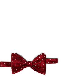 Patterned silk bow tie medium 159937