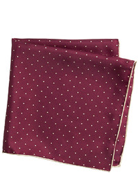 Johnston & Murphy Mini Dot Pocket Square