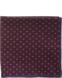 Brunello Cucinelli Mini Floret Pocket Square