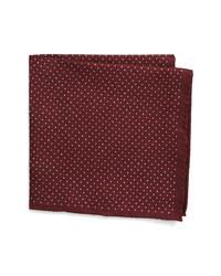 Nordstrom Men's Shop Reversible Paisley Silk Pocket Square