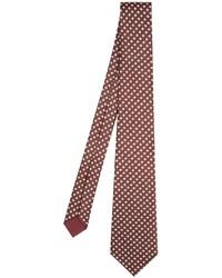 Bottega Veneta Polka Dot Jacquard Silk Tie