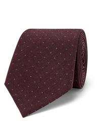 Brunello Cucinelli 7cm Polka Dot Woven Silk Tie