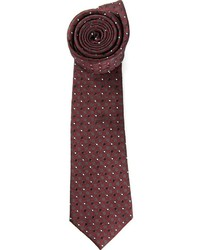 Valentino Embroidered Polka Dot Tie