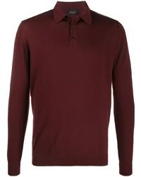 Roberto Collina Fine Knit Polo Shirt