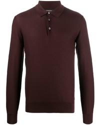 Ermenegildo Zegna Fine Silk Polo Shirt