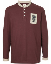 Kent & Curwen Long Sleeve Logo Polo Top
