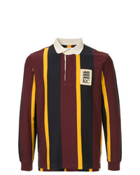 Kent & Curwen Long Sleeved Logo Polo Shirt