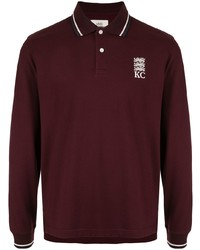 Kent & Curwen Long Sleeved Polo Shirt