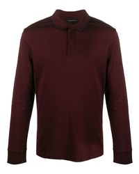 Emporio Armani Long Sleeved Polo Shirt