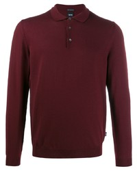 BOSS HUGO BOSS Plain Polo Shirt