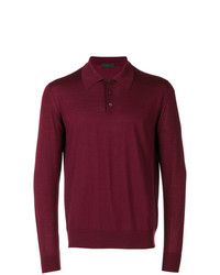 Prada Polo Collar Jumper
