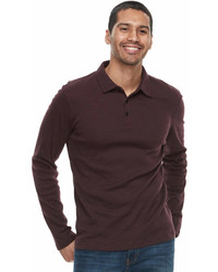Apt. 9 Slim Fit Stretch Soft Touch Slubbed Polo