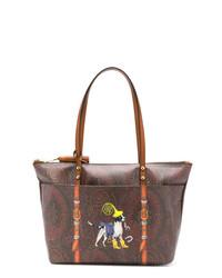 Etro Printed Tote Bag