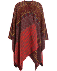Etro Printed Wool Cape