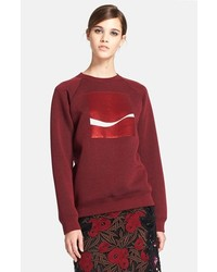 Marc Jacobs Coca Cola Sweatshirt Burgundy Medium