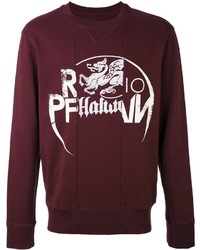 Panelled irish print sweatshirt medium 3762384