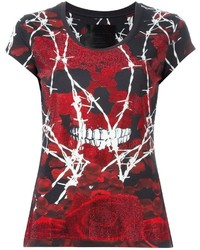 Dark flowers t shirt medium 563151