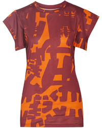 Isabel Marant Felipe Printed Cotton Jersey T Shirt