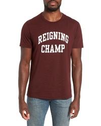 Reigning Champ Ivy League Logo T Shirt